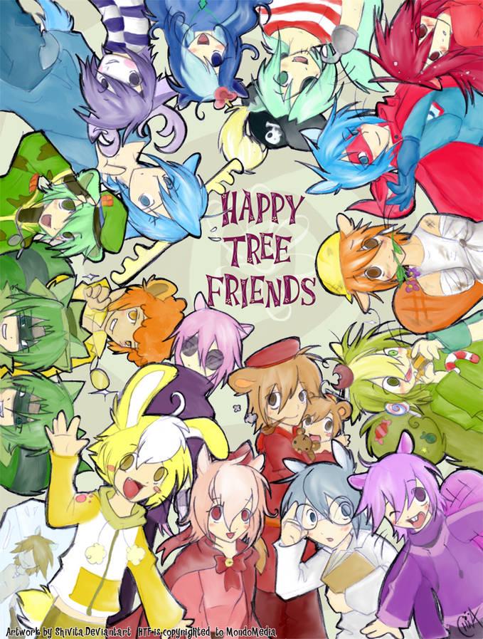 Happy Tre Friends human version. Lebih bagus yang ini atau yang original?