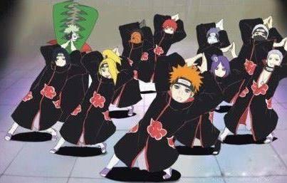 Mari Kita Menari Bersama Anggota Akatsuki ..... !!!!! Yang Mau Klik Wow nya ..... !!!!
