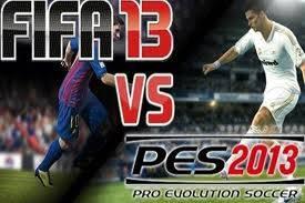 FIFA 13 vs PES 13 ? LM10 VS CR7 ? Klik WOW --->FIFA 13 dan LM10 Comment ---> PES 13 dan CR7
