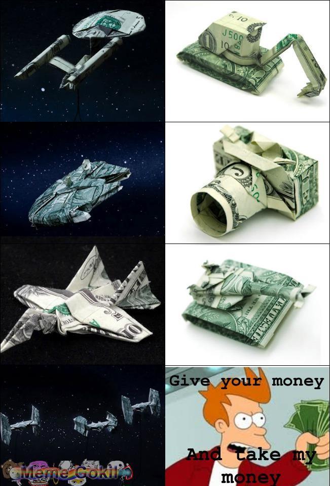 Keren uangnya, jadi pengen tukar uang :D