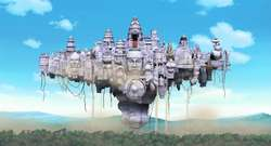 Negeri Langit (sora no kuni) di naruto the movie 2 (bonds)