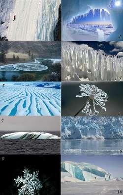 10 Fenomena Keajaiban Alam yang Membeku
