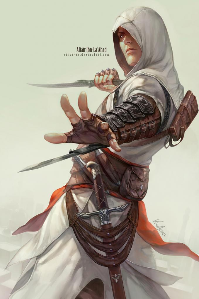 Altair from Assasins Creed