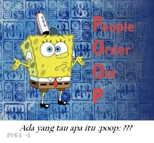 arti kata POOP !! wow nya ya?
