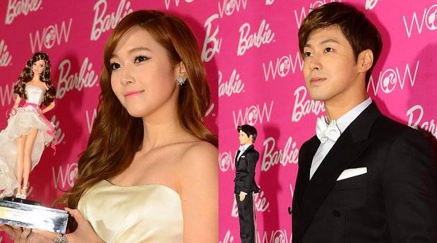 Jessica Girls Generation dan U-Know Yunho TVXQ ternyata mampu menjadi panutan bagi anak-anak dan remaja Korea Selatan. Hal ini terbukti dengan terpilihnya Jessica dan Yunho sebagai Barbie and Ken Korea 2012.