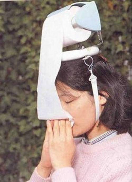 Cara praktis untuk menyediakan tissue saat anda flu.. :))