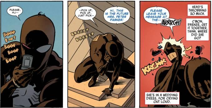 stupid spiderman story