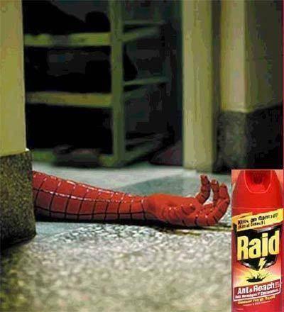 ini adalah cara membunuh spiderman yang paling mapuh :v klick WOW !