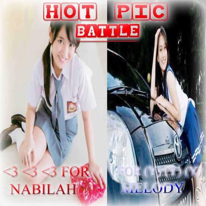 Siank^_^ kali ini battle yaitu HOT PIC BATTLE hot pic battle ialah battle foto terhot atau ter .... if you know what i mean Klik Wow Nya/Like