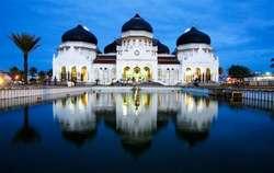 Masjid Raya Baiturrahman, Aceh, Indonesia