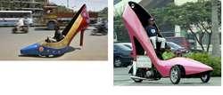 Modifikasi kendaraan berbentuk Sepatu 1000 cc