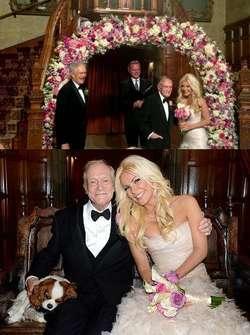 Model Seksi Pamer Foto Pernikahan dengan Bos Playboy