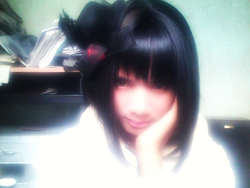 click wow ya guys. . . ini foto eiko doi ex-vocalist band totsuzenshi