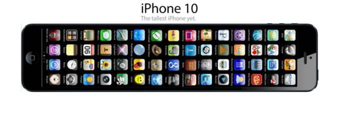 iPhone 10... untuk yang suka sama yang iteeeem, guedheee dan puanjaaang.