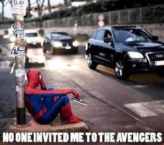 WoW , Spiderman Juga Bisa Galau. .!!