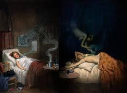 Kamu membuka mata. Baru saja kamu tidur selama beberapa jam. Kamu bisa merasakan pikiranmu melayang-layang antara sadar dan tidak. Sambil berusaha mengumpulkan kesadaranmu, kamu mencoba untuk bangun. Tetapi, ada sesuatu yang tidak beres. Tubuhm