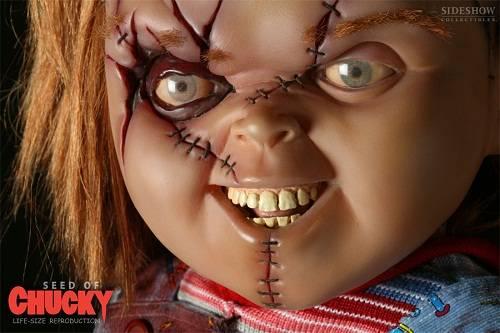 Boneka Chucky dikenal pertama kali lewat filmnya, Child's Play yang rilis pada tahun 1988. Chucky sebenarnya berasal dari penjahat bernama Charles Lee Ray (Chucky). Charles terkena tembakan oleh seorang detektif, namun sebelum tewas, WOW