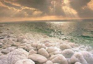 WOW Laut mati (Israel, Yordania, Palestina) Laut Mati adalah danau garam antara Tepi Barat / Palestina / Israel dan Yordania barat ke timur. Pada 420 meter di bawah permukaan laut, pantainya adalah titik terendah di bumi yang ada di lahan kerin