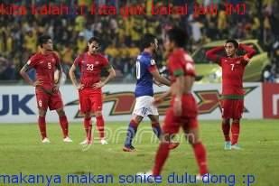 WKwkwk,indonesia kalah enggak jadi,dibayar iklan sonice JMJ. tulisan Biru = Malaysia Merah = Indonesia