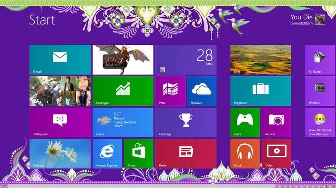 Akhirnya windows 8 q berhasil pulsker. .!! Wow