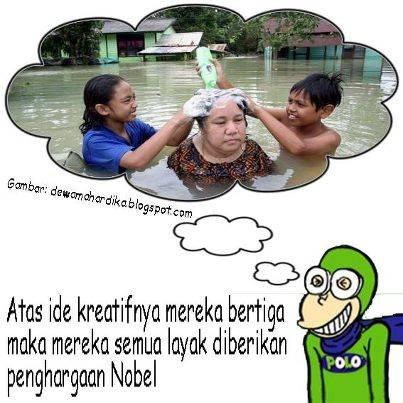 Hikmah banjir........WOWnya dong!