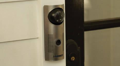 DoorBot: bel pintu dengan kamera yang punya koneksi Wi-Fi