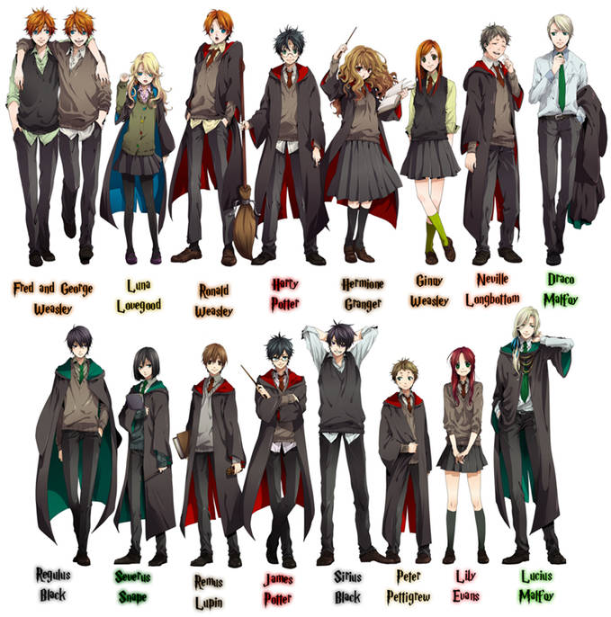 ini Harry Potter versi Anime comment kalo ga suka wow kalo suka :D