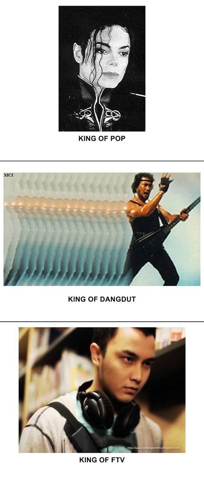 King of FTV karena setiap gue ngeliat FTV yang maen pasti die
