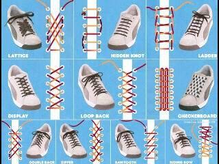 Kalau kalian bosan dengan ikatan sepatu yang gitu-gitu aja... bisa dicoba simpul-simpul kreatif , unik, dan lucu berikut.... Selamat mencoba...