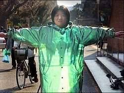 WOW jaket tembus pandang..... karya jepang , sekali WOW untuk jepang