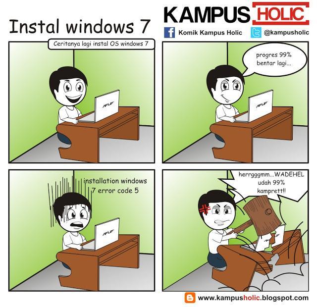 #03 instal windows 7