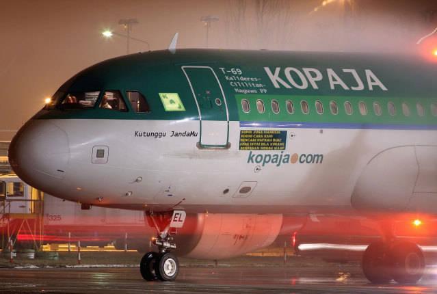 pesawat Kopaja jurusan Cikini. sekali naik cuma Rp.25000. Jakarta-> Depok -> bogor -> Sawangan -> Bekasi cuma Rp. 15000 . WOWnya boleh dikit :)