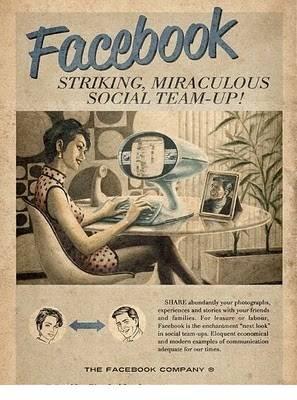 WOW Begini deh Seandainya tahun 50an sudah ada internet Pernah lihat poster-poster iklan jadul (tahun 50 s/d 60an) pasti jadul2 kan ? Nah Bisa dibayangkan seandainya tahun 50an Internet sudah ada, pasti iklannya kurang lebih seperti ini...