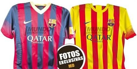 Jersey Barcelona musim depan bocor