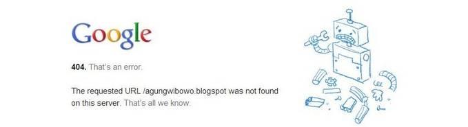 Beginilah jika Google sedang error