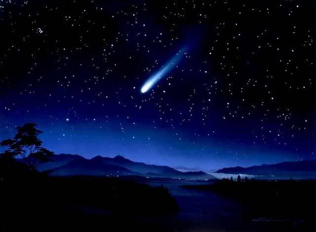 ada pemandangan langkah di awal 2013 hujan meteor terjadi pada tanggal 1-10 januari 2013 hujan meteor biasanya terjadi pada jam 3 pagi dan akan terlihat jika cuaca cerah ........ \\\ W........O.......W