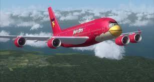 Pesawat Versi Angry Bird!!!!