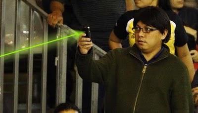 Pelaku Laser Saat Pertandingan MAL vs INA Terungkap