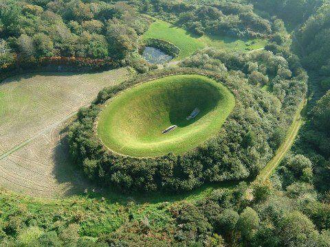 Ireland wonderful scenery Irish Sky Garden at Cork, a distance of 177 miles southwest from Dublin
