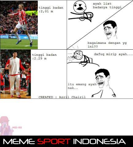 yao ming diremehin :v source : Meme Sport Indonesia