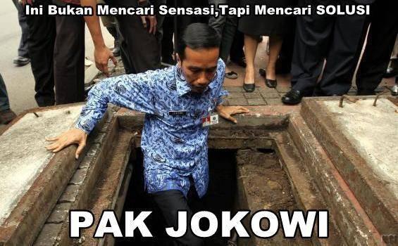 Pak Jokowi tidak mencari Sensasi, tapi mencari solusi...