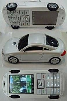 hand phone yang berbentuk mobil ,,,, Wooow keren yah,,,,, O.o :D