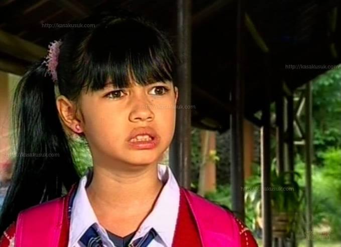 Foto yuki kato waktu kecil pada saat memainkan sinetron Monyet Cantik
