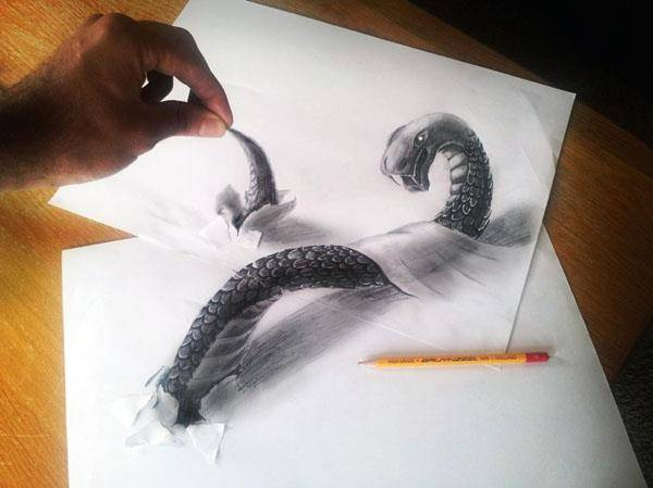 gambar 3D yang sangat bagus , Creative nih yang buat ya ^-^ . WOW nya ya :)