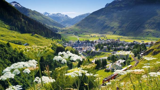 ini dia keindahan alam di Swiss ^^