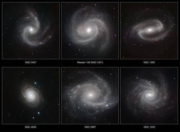 6 Galaksi Spiral Yang Spektakuler klik wow jika anda merasa kecil.