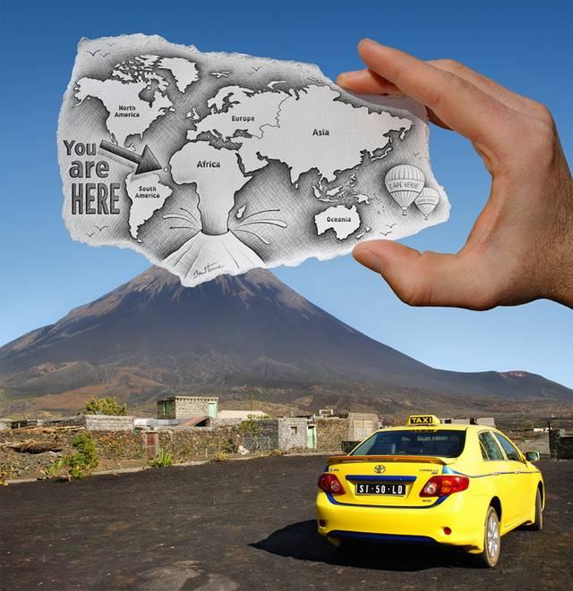Karya Foto-foto Menakjubkan yang Digabung dengan Seni Gambar Sketsa Halo! Sobat Apasih.com :) Adalah seorang pria berkebangsaan belgia yang bernama Ben Heine, yang membuat sebuah karya berjudul Pencil VS Camera telah menciptakan sebuah kar