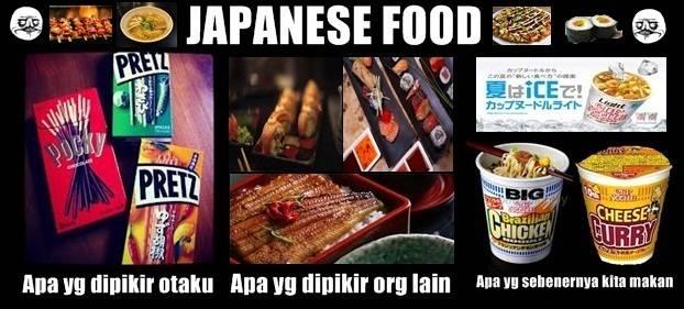 Japanese food dimata orang :v