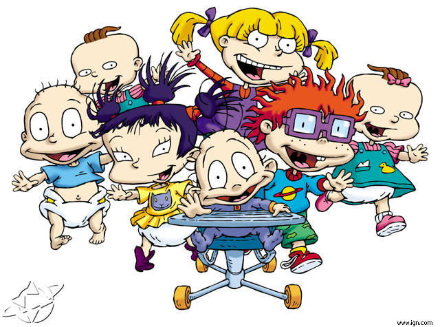 Masih ingat gak ini cartoon apa! dan karakter mana yang kamu suka?