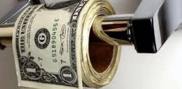 Kertas Tissue Unik.. Uang Dollar di pakee buat tissue..?? Orang kaya.. hahaha
